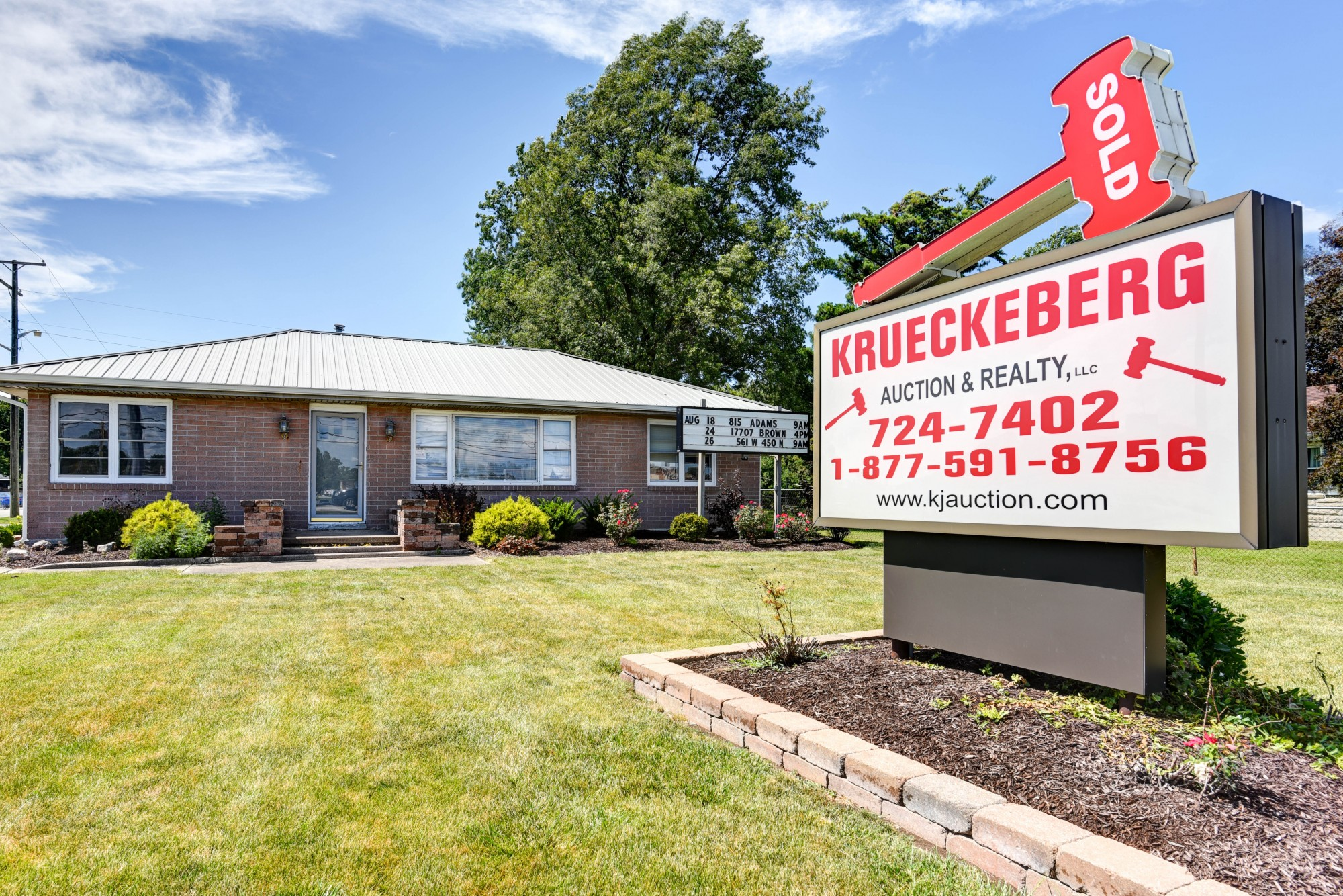 Fort Wayne Auctions Real Estate Krueckeberg Auction Realty